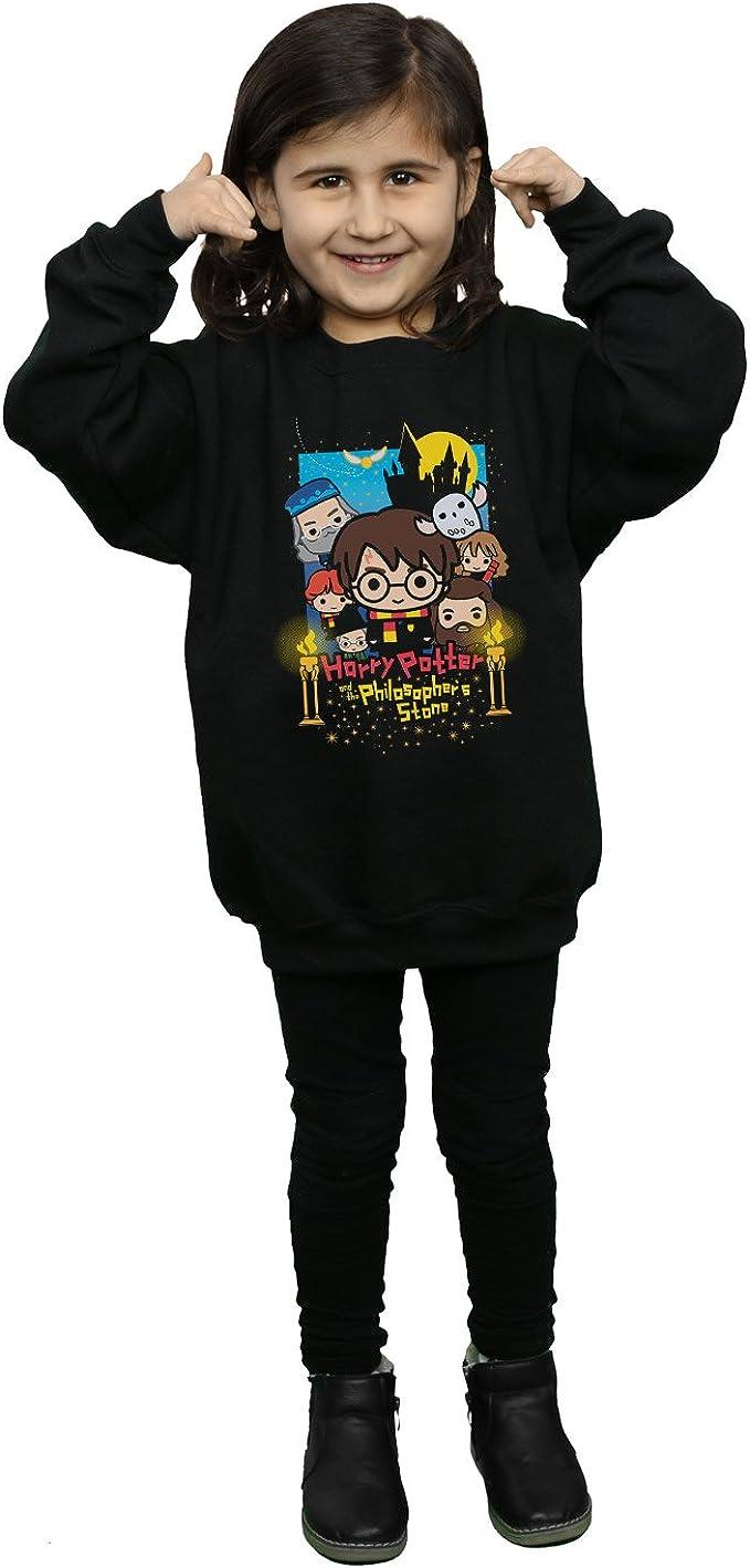 HARRY POTTER niñas Philosophers Stone Junior Camisa De Entrenamiento 12-13 Years Negro