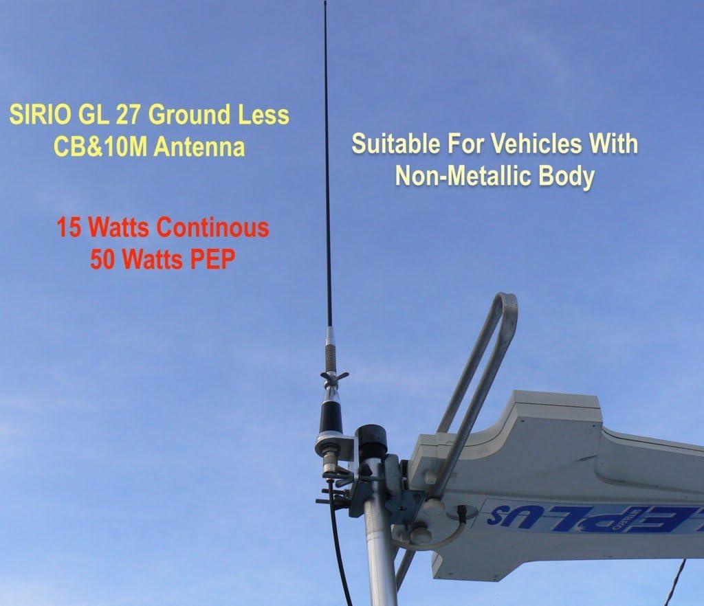 Sirio antena GL27 terreno menos CB Antena de Radio para ...