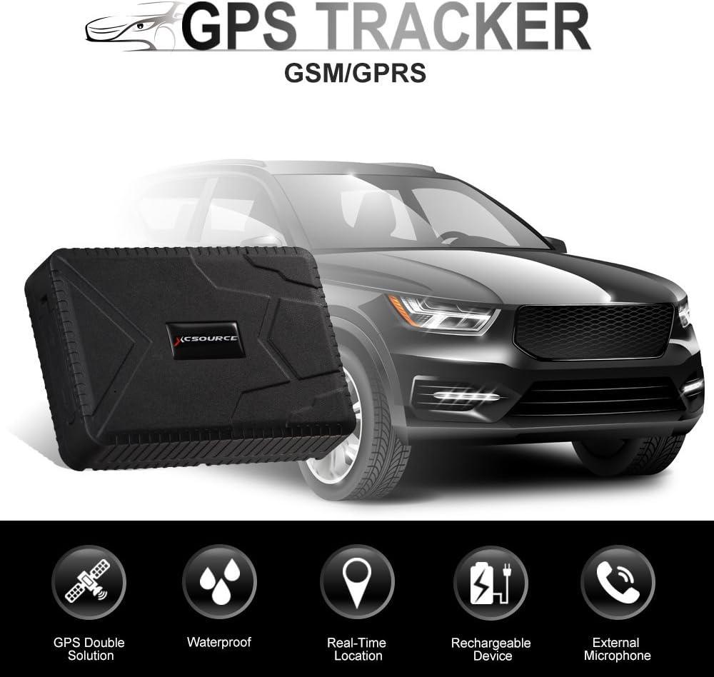 Localizador antirobo GPS, localizador impermeable en tiempo real con batería de 120 dias en reposo, GSM/GPRS. Localizador de coches, motos, vehículos: Amazon.es: Electrónica