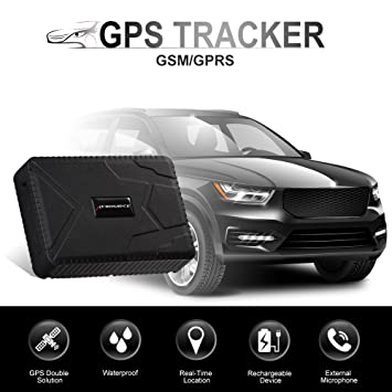 Localizador antirobo GPS, localizador impermeable en tiempo real con batería de 120 dias en reposo, GSM/GPRS. Localizador de coches, motos, ...