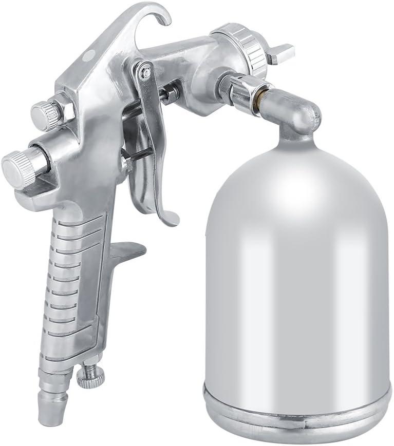 1.5mm Nozzle 400cc Portable Pneumatic Tool Automotive Paint High Atomizing Spray Tool Zyyini Pneumatic Air Paint Spray Tool Gravity Feeding Mode