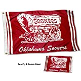 College Flags and Banners Co. Oklahoma Sooners Vault Throwback Vintage Double Sided Flag Review