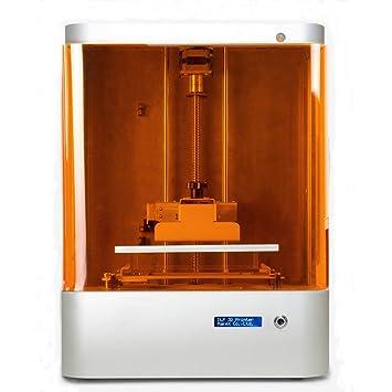 Impresora 3d SLA Resine UV 25µ Ur eje Z y 60µ sobre eje x/y ...