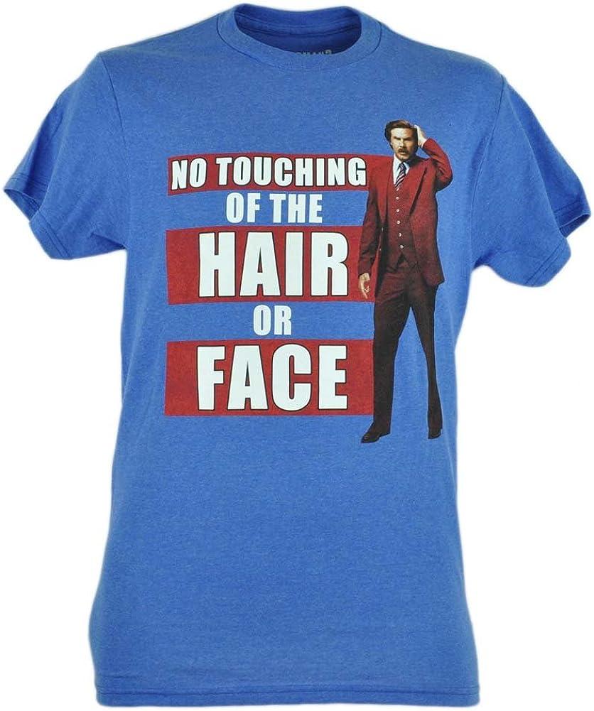 Anchorman 2 Tocar de el Cabello o Face Graphic T-Shirt