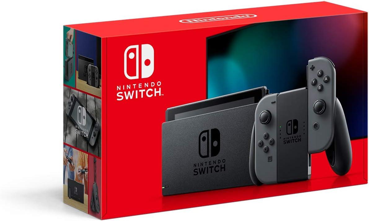01 >> Amazon Com Nintendo Switch With Gray Joy Con Hac 001 01