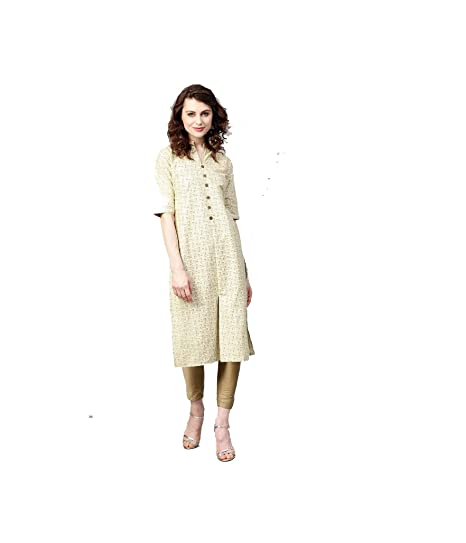b26cc89e115d4 Amazon.com: Hiral Designer Mall Women Designer Straight Kurta Kurtis ...