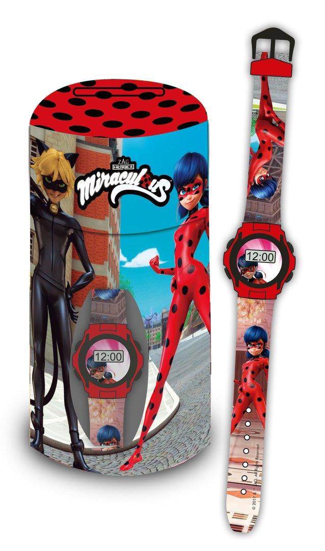 Ladybug Hucha Metal + Reloj Digital Factory 37572: Amazon.es: Juguetes y juegos