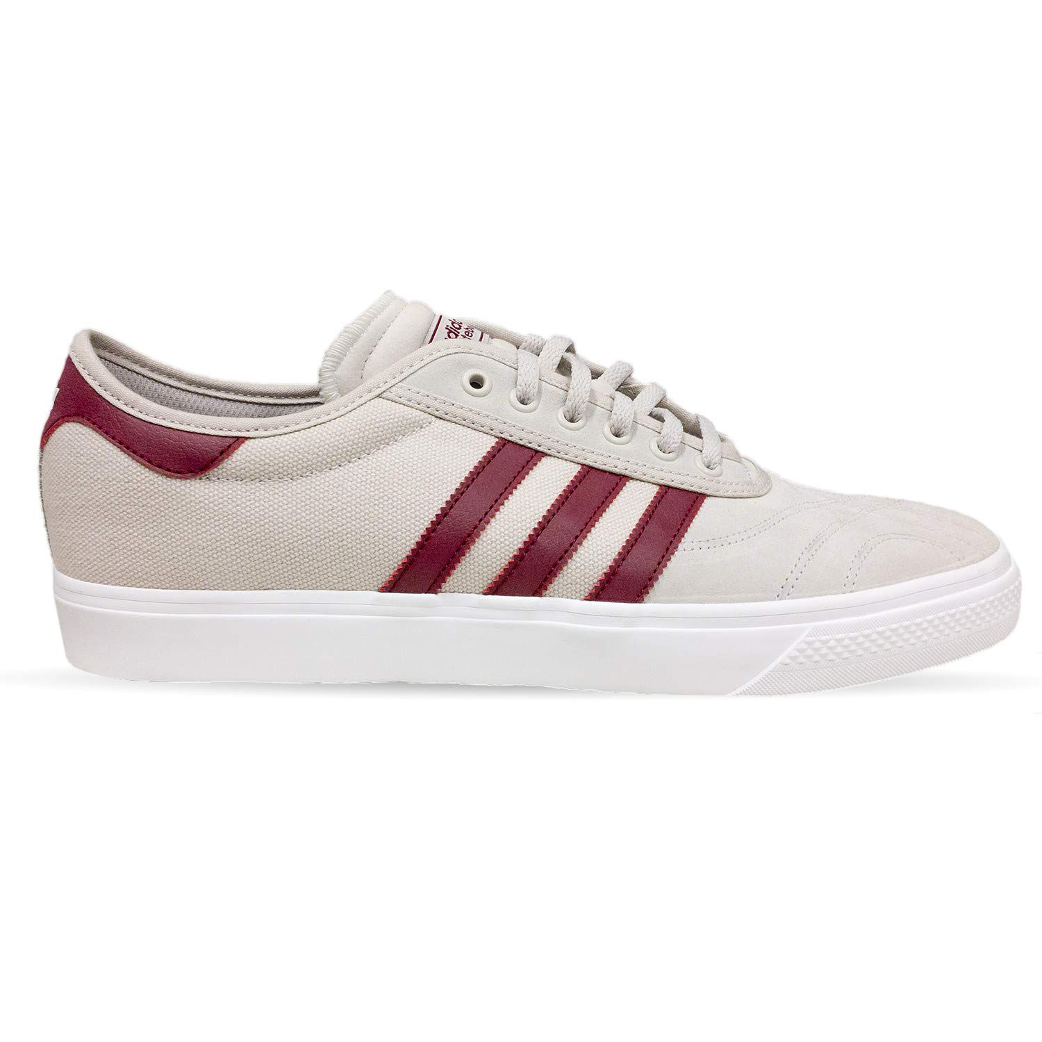 0f4f11285f052 Galleon - Adidas Skateboarding Men s Adi-Ease Premiere Crystal White  Collegiate Burgundy White 9.5 D US D (M)