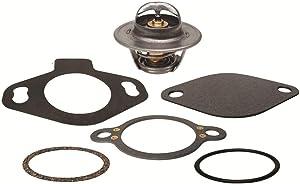 Thermostat Kit for Mercruiser GM V8 5.0L, 5.7L, 7.4L & V6 4.3L 1983-95, 140 Degree, 13390 Replaces 18-3668, 807252Q4