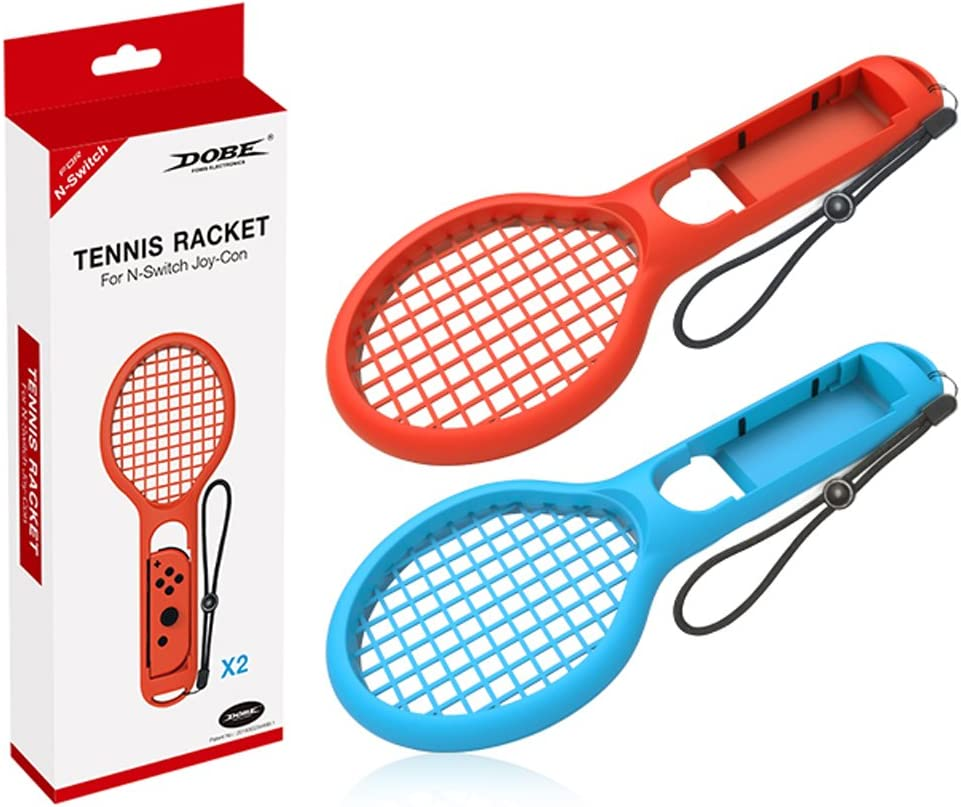 Finera - Raqueta de tenis compatible con Nintendo Switch, paquete ...