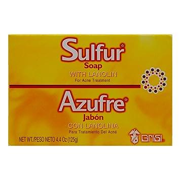jabon de azufre farmacia precio