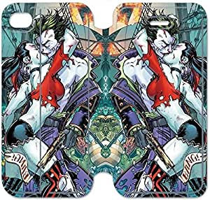 Leather Smart Cover With Flip Stand Phone Case iphone 6 6S 4.7 inch-Harley Quinn-11