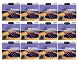 D'Addario EXP26 Custom Light Coated Phosphor Bronze Guitar Strings 12-Pack