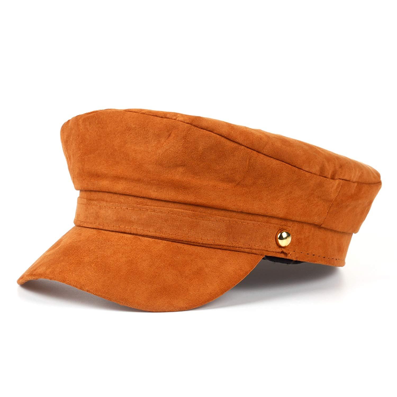 Ron Kite VORON Navy Cap Hat Female Winter Baseball Cap for Women Men Ladies Army Hat Suede Visor Cap Sailor Hat Male