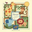Dimensions Baby Hugs Savannah Birth Record Counted Cross Stitch Kit