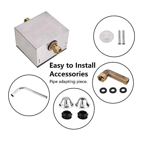 Automatische Sensor Urinal Spülventil Spülung Wandmontage induktiver Wasserhahn