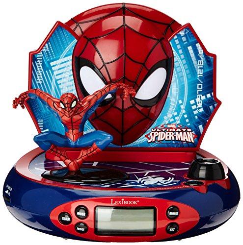 Lexibook RP500SP Spiderman Radio/Radio-réveil (Best Clock Radio Uk)