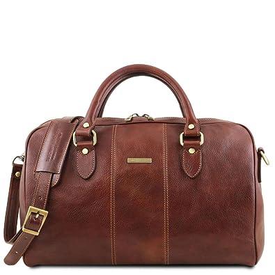 Tuscany Leather Lisbona Sac de voyage en cuir - Petit modèle - TL141658 (Noir) rDHzdS0