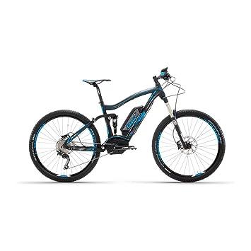 e-sempione 2.0 Full Bosch 27.5 negro azul Mountain Bike eléctrica – lombardo Bikes 2017