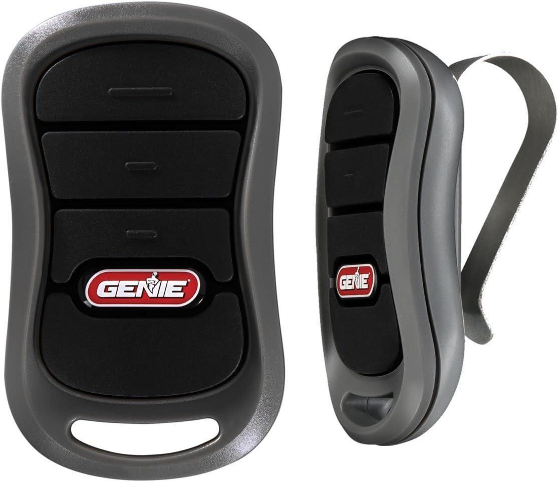 Genie G3T-BX 3-Button Garage Door Remote With Intellicode 390//315mhz