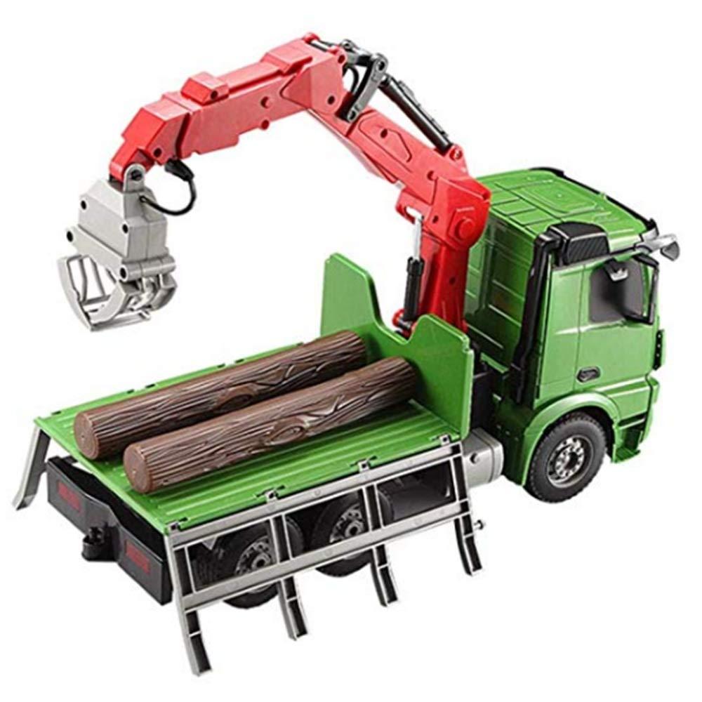 comprar ahora Juguetes Xiaomei Vehículos de de de construcción Control Remoto Carga Coche Grúa Grúa Modelo de Auto Vehículos de 8 años o más para niños  varios tamaños