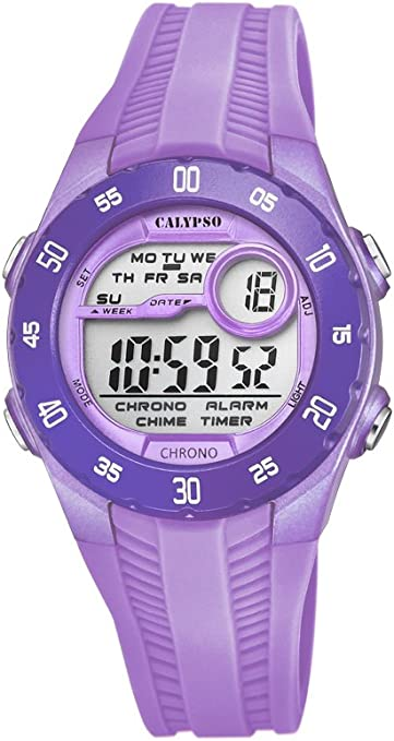 Calypso Reloj Digital para Unisex de Cuarzo con Correa en Plástico K5744/3