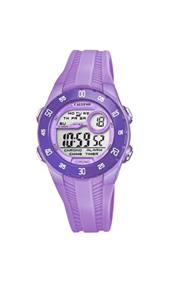Calypso Reloj Digital para Unisex de Cuarzo con Correa en Plástico K5744/3: Amazon.es: Relojes