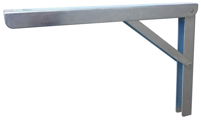 klappbar und verstellbar Sunload Klappkonsole aus Stahl verzinkt 400mm - verzinkt