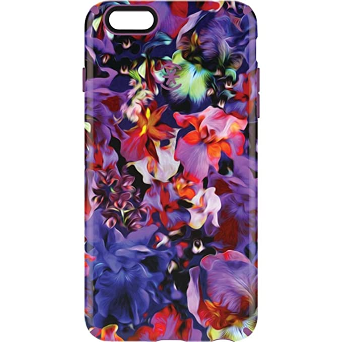 release date: bb0c1 12161 Speck Products CandyShell Inked Case for iPhone 6 Plus/6S Plus, Lush  Floral/Beaming Orchid Purple