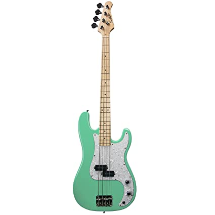 Sawtooth ST-PB-SGRP EP Series Electric Bass Guitar, Surf Green with