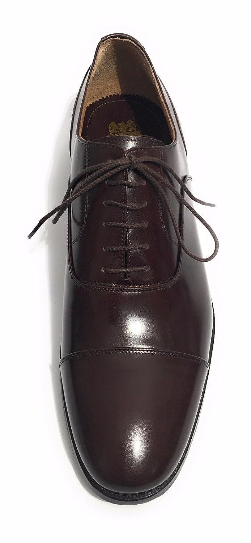 Harris Zapatos de Cordones de Piel Para Hombre Marrón Marrone Moro 9UK lmPr4ff4No