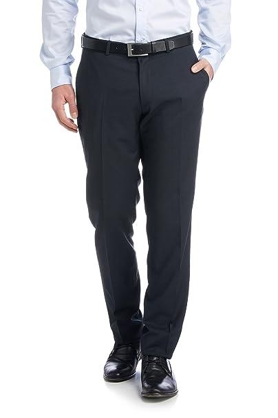 Esprit Collection - Pantalones de Traje Hombre, Azul (420 ...