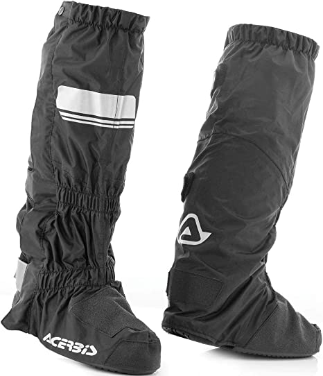 Acerbis di Motocicletta Stivali da Pioggia /überzieher Rain 3.0/Boots Cover Nero