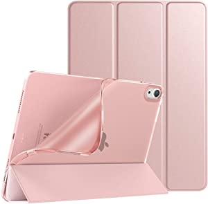 TiMOVO Case for New iPad Air 4th Generation, iPad Air 4 Case (10.9-inch, 2020), Slim TPU Translucent Frosted Back Protective Cover Shell with Auto Wake/Sleep, Cover Fit iPad 10.9
