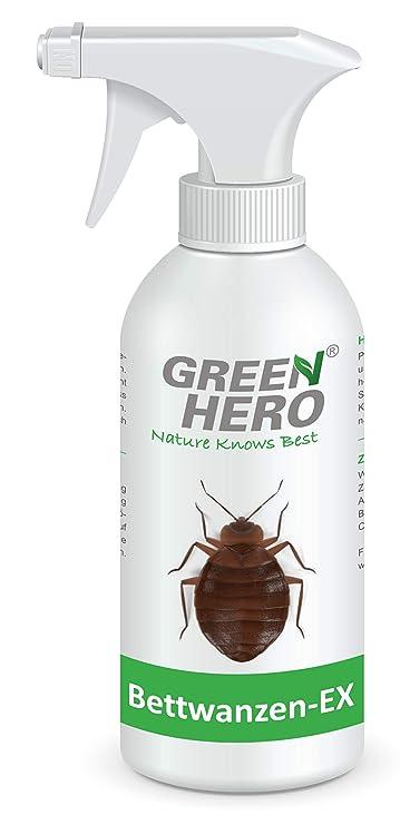 Spray anti chinches Bettwanzen-Ex de Green Hero | 500 ml | Producto contra los chinches y ácaros: Amazon.es: Jardín