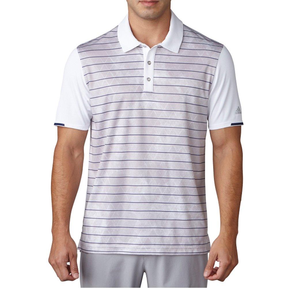 adidas Golf para Hombre Climachill Geo Rayas impresión Polo ...