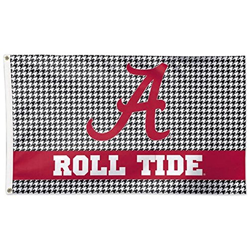 University of Alabama Houndstooth 3x5 College Flag