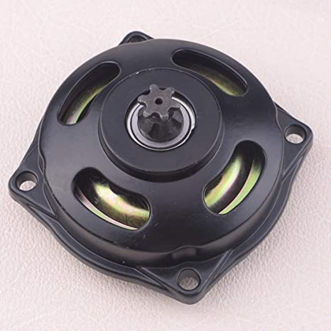 Calap-Store - Motorcycle Metal 6T Teeth Clutch Drum Bell Housing Gear Box Fit For 47cc 49cc Pocket Dirt Bike ATV Mini Quad - - Amazon.com