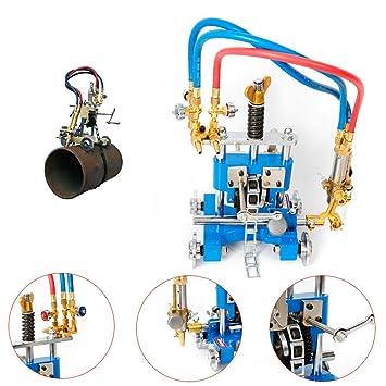 TFCFL CG211Y equipo de soldadura manual de corte de tubería máquina de biselado cortador de pista de antorcha: Amazon.es: Bricolaje y herramientas