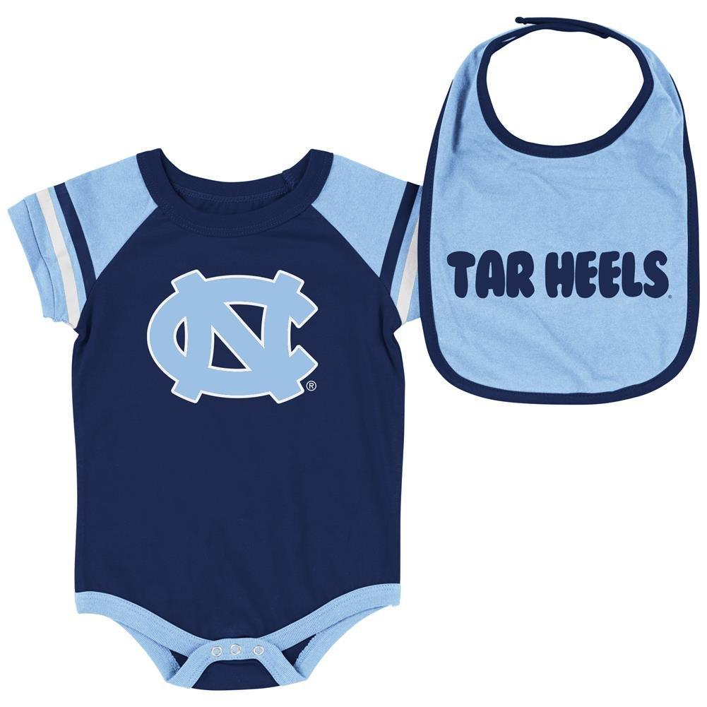 信頼 North Heels Carolina Tar Heels Infant roll-out Onesieとよだれかけセット Infant B073RW25MW 6-12 Carolina Months, エムアンドエム:f37652c4 --- svecha37.ru