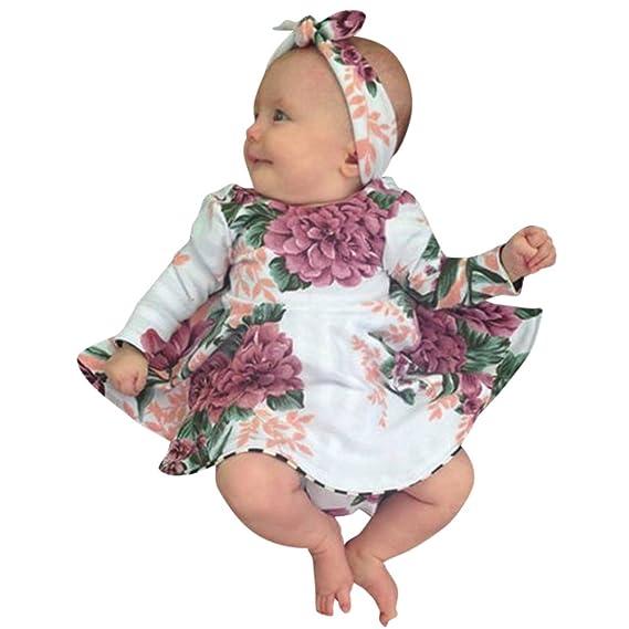K-youth Vestido Bebe Niña, Ropa Bebés Recien Nacido Niña Chicas ...