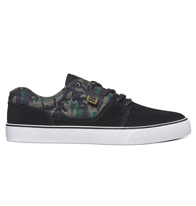 DC Shoes Tonik Sneakers Skateboardschuhe Herren Damen Unisex Erwachsene Camouflage/Schwarz