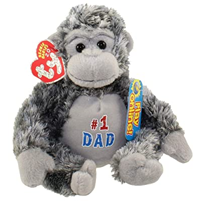 Ty Beanie Babies 2.0 Pops Father's Day Gorilla: Toys & Games