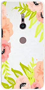 SONY XZ2 Floral peach pink, Zoot Designer Phone Covers