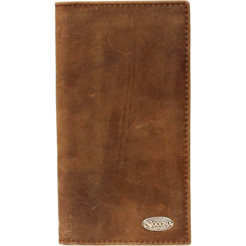 Nocona Men's Distresed Basic Brand Rodeo, Brown, One Size