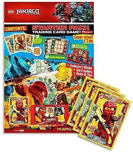 LEGO Ninjago Series 2 TCG Starter Pack - English: Amazon.es ...