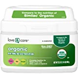 Love & Care Organic Infant Formula Milk-based Powder With Iron, 23.2 Ounce