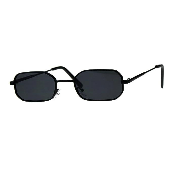 Amazon.com: Gafas de sol rectangulares con forma de Heptagon ...