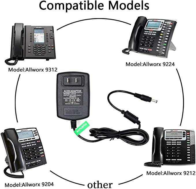 Telephones & Accessories Office Electronics 24V Adapter Compatible ...