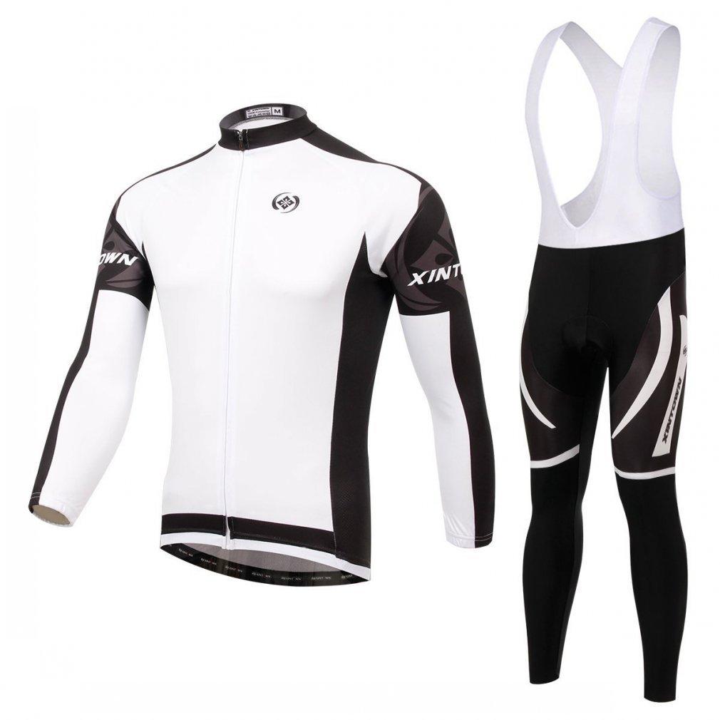 besylユニセックスホワイトブラックグレープリントハイパフォーマンスメッシュCycling Clothingキット、サイクリングジャージ半袖とショーツスーツ自転車用、バイカー、自転車、乗馬 B014GMFHVE M (US S) Bib-Long Bib-Long M (US S)